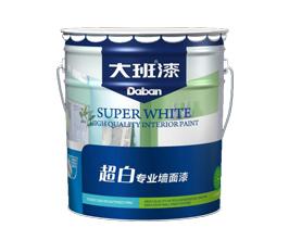 超白专业墙面漆