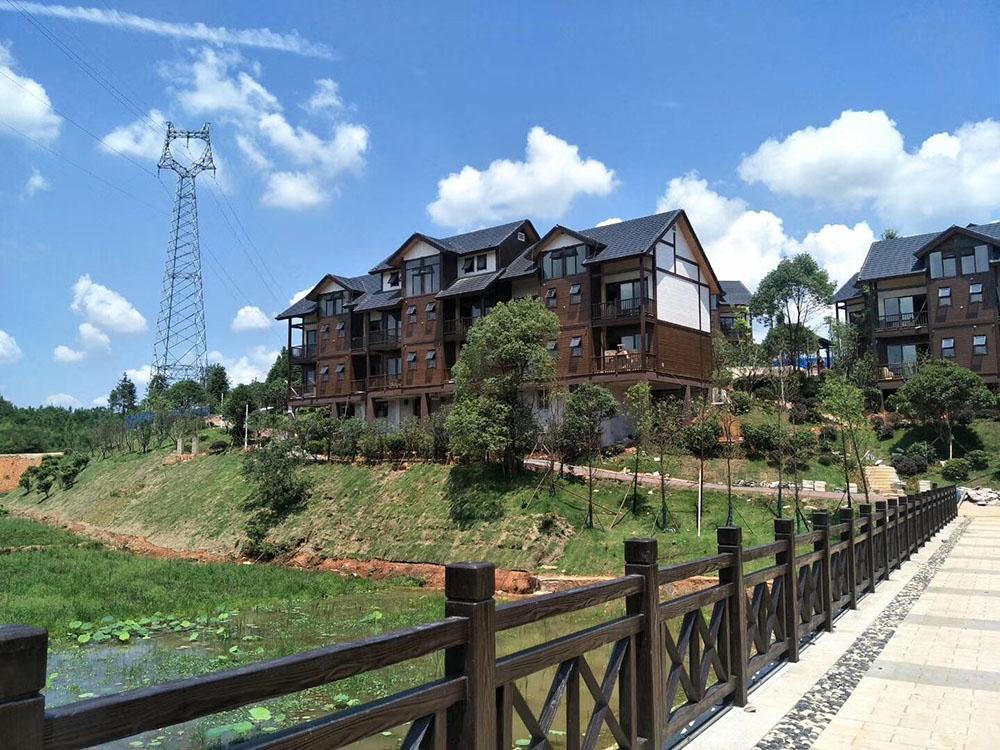 平江千鹭湖国际度假区外墙项目